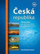 Česká republika - školní atlas - 23x32