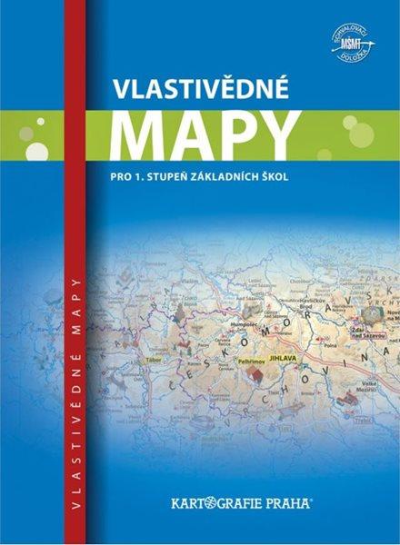 Vlastivědné mapy pro 1. stupeň základní školy, 3. vydání - A4, brožovaný