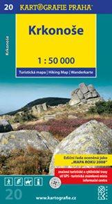 Krkonoše - turistická mapa 1: 50 tis.  /20/