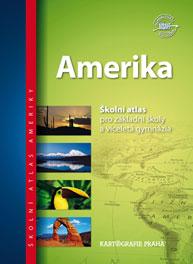 Amerika školní atlas pro ZŠ víceletá gymnázia - 23x32