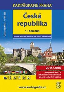 Autoatlas Česká republika 2015/2016 1: 100 tis.