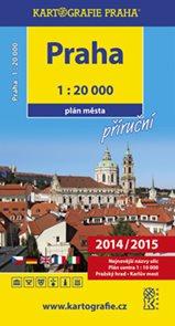 Praha příruční plán města 1 : 20 000