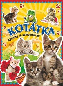 Koťátka - Aktivity se samolepkami