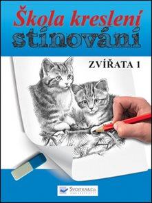 Škola kreslení stínování - zvířata 1