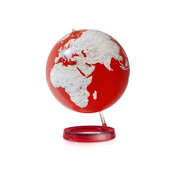 Globus - Full Circle - Colour Bright RED 30cm, Doprava zdarma