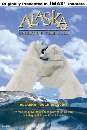 DVD Aljaška - Duch divočiny - Imax (40 min.) /USA/ - 13x19 cm