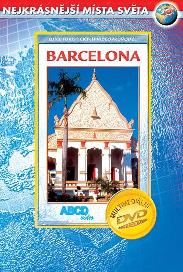 DVD Barcelona - turistický videoprůvodce (62min.) /Španělsko/ - 13x19 cm
