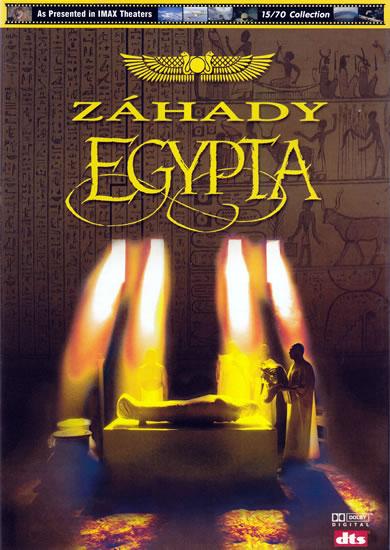DVD Záhady starověkého Egypta - Imax - 13x19 cm