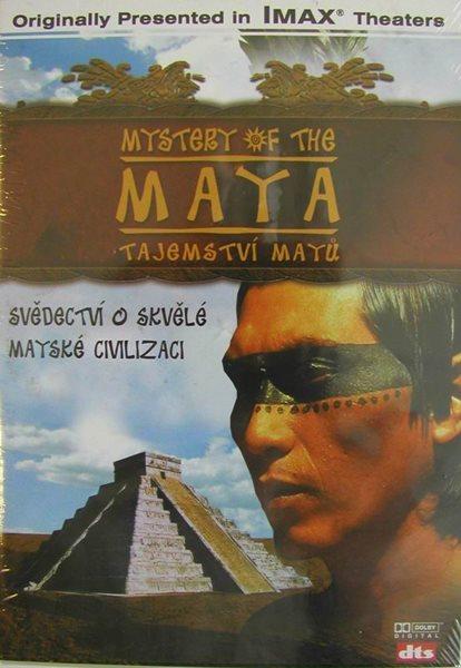 DVD Tajemství Mayů - Imax - 13x19 cm