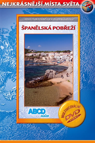 DVD Španělská pobřeží - 13x19 cm