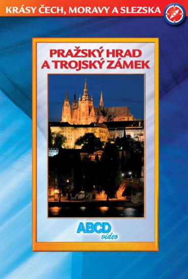 DVD Pražský Hrad a Trojský zámek - Krásy ČR - 13x19 cm