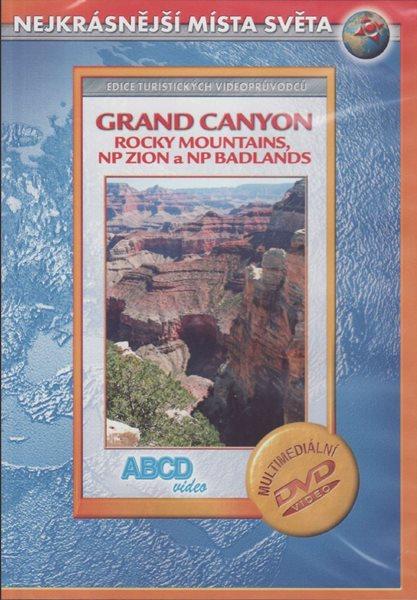 DVD - Grand Canyon, Rocky Mountains, NP Zion a NP Badlands - turistický videoprůvodce (89 min) /USA/ - neuveden