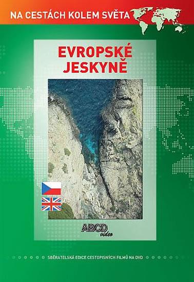 DVD Evropské jeskyně - 13x19 cm