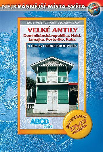 DVD Velké Antily - turistický videoprůvodce - neuveden - 14x19