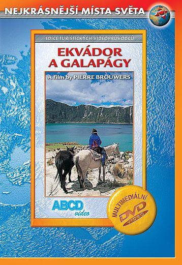 DVD Ekvádor a Galapágy - turistický videoprůvodce - 14x19