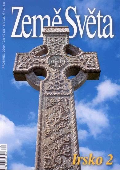 Irsko -2- časopis Země Světa - vydání 12-2009 - A5, křídový papír