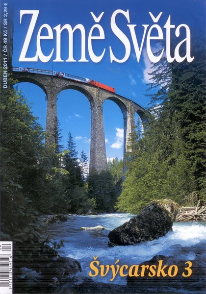 Švýcarsko 3 - časopis Země Světa - vydání 4-2011 - A5 křídový papír