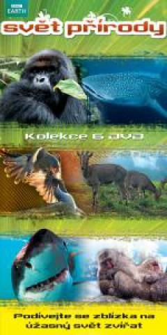 Svět přírody - kolekce 6 DVD - neuveden - 13x19