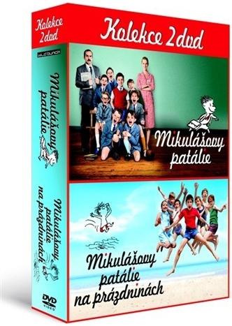 Kolekce: Mikulášovy patálie 2 DVD - neuveden - 13x19