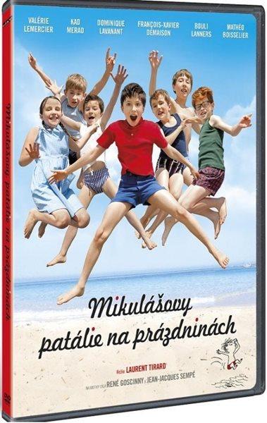 DVD Mikulášovy patálie na prázdninách - neuveden - 13x19