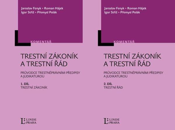Trestní zákoník a trestní řád 1. + 2. díl - Fenyk J., Hájek R., Stříž I., Polák P. - A5, Doprava zdarma