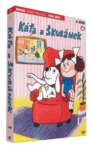 Káťa a Škubánek 4 DVD