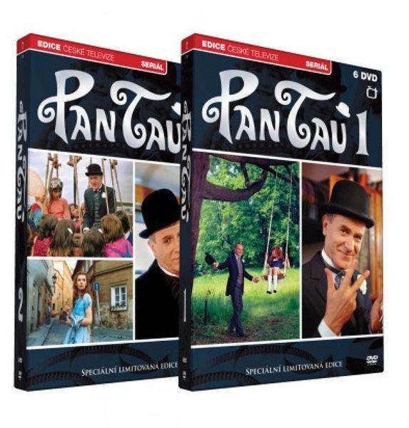 Pan Tau 5 DVD + 6 DVD - neuveden