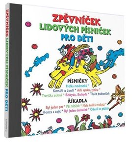 CD Zpěvníček lidových písniček pro děti