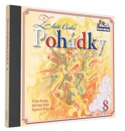CD Zlaté české pohádky od A do Z 8 - neuveden - 13x14