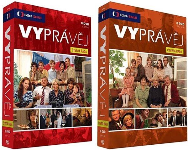 Vyprávěj IV. řada 16 DVD