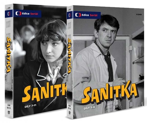 Sanitka 11 DVD - neuveden - 13x19