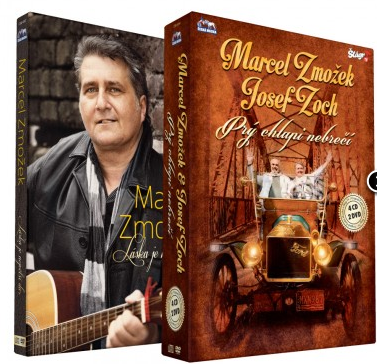 Komplet Zmožek Marcel + Zoch Josef - soubor 5 CD + 3 DVD - 13×19