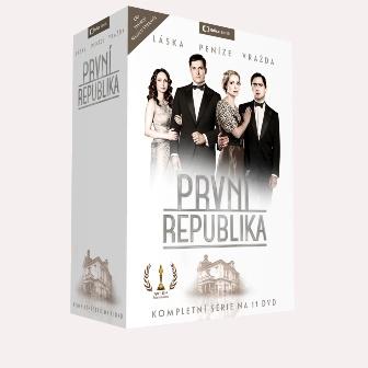 První republika 11 DVD - neuveden - 13x19