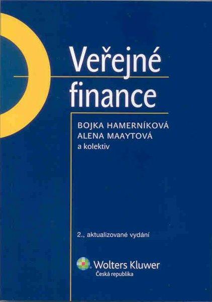 Veřejné finance 2.vyd. - Hamerníková B., Maaytová A. a kolektiv - A5, brožovaná