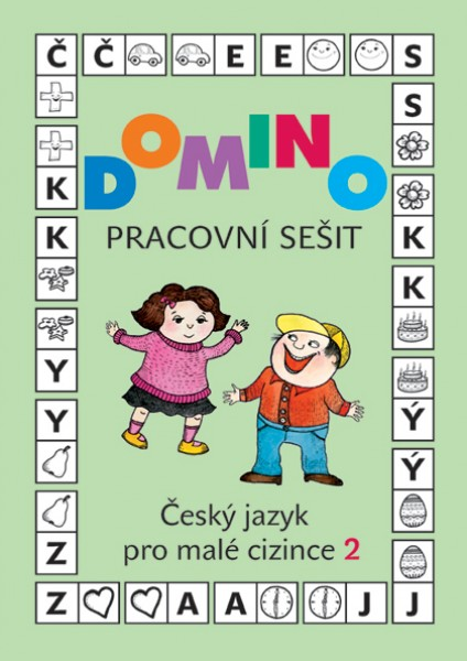 Domino Český jazyk pro malé cizince 2 - pracovní sešit - Škodová Svatava - 21x30
