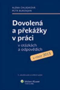 Dovolená a překážky v práci v otázkách a odpovědích v roce 2013
