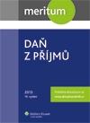 meritum Daň z příjmů 2013