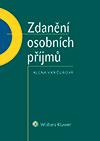Zdanění osobních příjmů - Alena Vančurová - 15x20