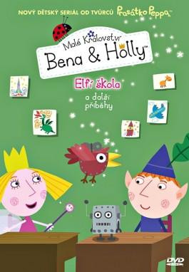 DVD Malé království Bena a Holly - Elfí škola - neuveden - 13x19