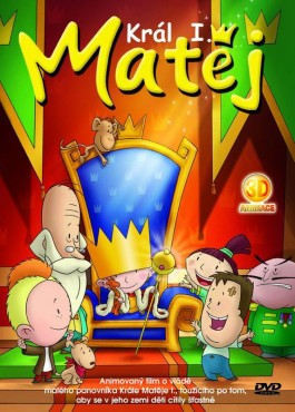 DVD Král Matěj I. - 13x19