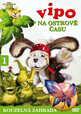 DVD Vipo na Ostrově času 1 - Kouzelná zahrada - neuveden - 13x19