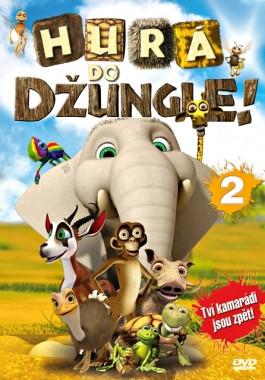 DVD Hurá do džungle! 2 - neuveden - 13x19