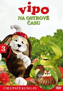 DVD Vipo na Ostrově času 3 - Chlupaté kung-fu