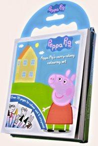 60 omalovánek Prasátko Pepa + DVD