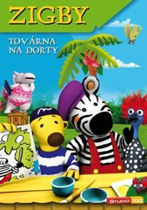 DVD Zigby - Továrna na dorty