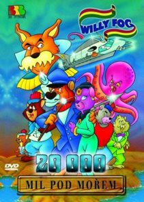 DVD Willy Fog - 20.000 mil pod mořem