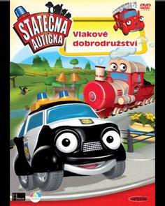 DVD Statečná autíčka 2 Vlakové dobrodružství
