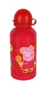 Láhev na pití Prasátko Peppa - Pepina růžová