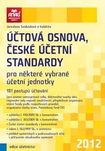 Účtová osnova, české účetní standardy 2012