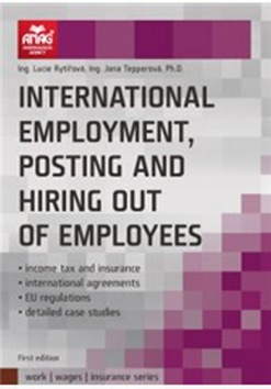 International employment, posting and hiring out of employees - Lucie Rytířová, Jana Tepperová - 15x21